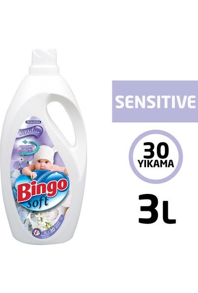 Bingo Soft Sensitive Bebeğimin Kokusu Yumuşatıcısı 3 Lt