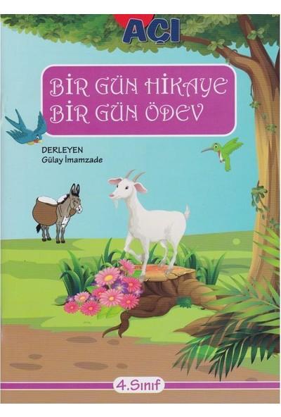 Açı Yayınları 4. Sınıf Bir Gün Hikaye Bir Gün Ödev
