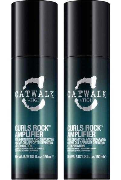 Tigi Catwalk Curls Rock Amplifier Bukle Şekillendirici 2x150ml