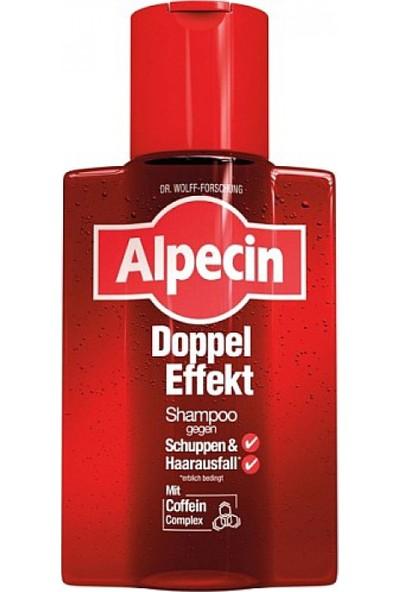 Alpecin Doppel Effekt Dökülme, Kepek Karşıtı Kafein Şampuan 200ml