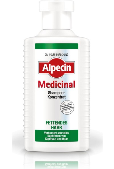 Alpecin Medicinal Konzentrat Yağlı Saç Derisi İçin Şampuan 200ml