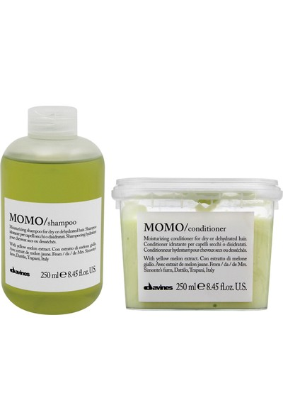 Davines Momo Sülfatsız Şampuan 250ml + Krem 250ml