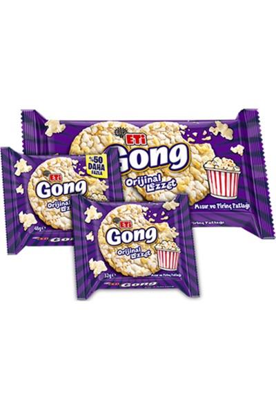Eti Gong Mısır ve Pirinç Patlağı 48 gr 18'li Koli