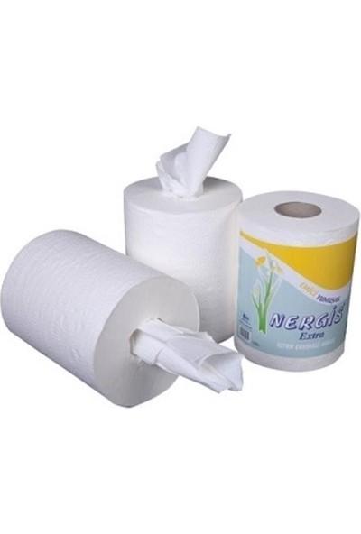 Nergis İçten Çekmeli Kağıt Havlu 6'lı Paket