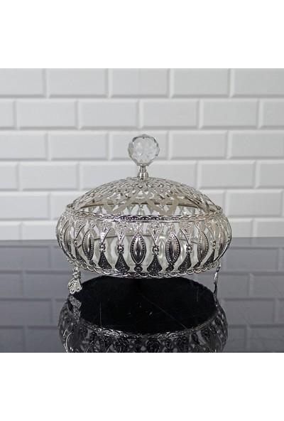 Oyks Metal Lokumluk Model Gümüş Renk