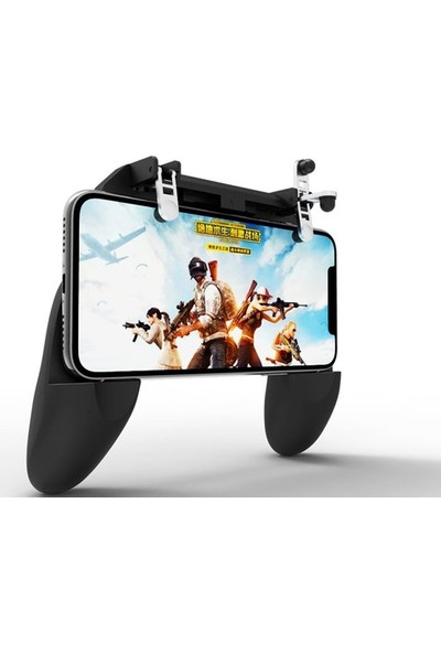Aksesuarfırsatı Smartoyun PubG Konsolu Telefon Oyun Ateş Kontrol Aparatı W10 Mekanik Mobil Oyun Kontrolcüsü