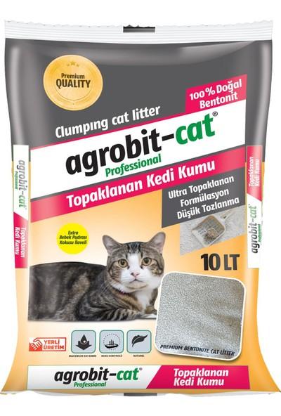 Agrobit Cat Bebek Pudrası Kedi Kumu Doğal Bentonit İnce Taneli 10 Lt 6602-09