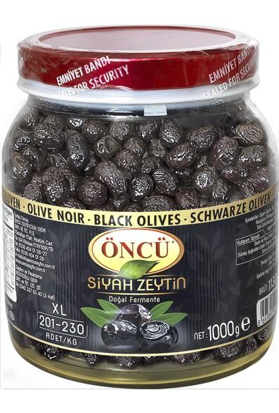 Öncü Siyah Yaglı Zeytin Xl 201-230 1 kg Pet Kavanoz