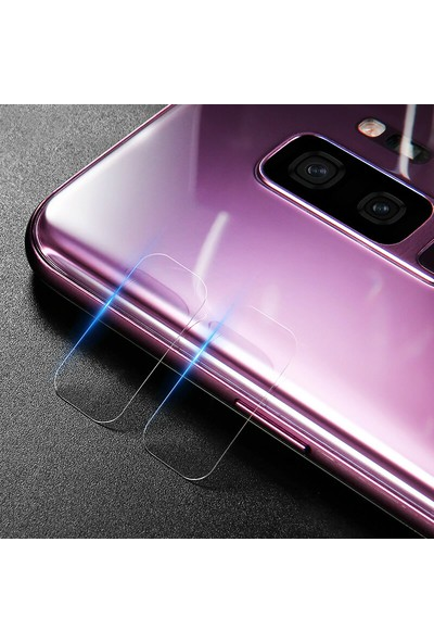 Microsonic Samsung Galaxy S9 Plus Kamera Lens Koruma Camı