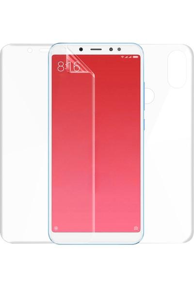 Microsonic Xiaomi Redmi S2 Ön + Arka Kavisler Dahil Tam Ekran Kaplayıcı Film