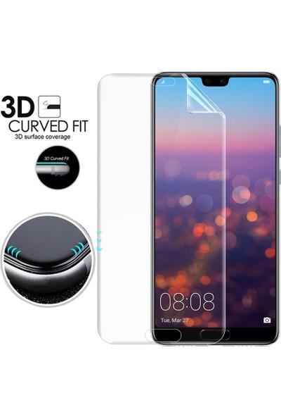 Microsonic Huawei P20 Pro Ön + Arka Kavisler Dahil Tam Ekran Kaplayıcı Film