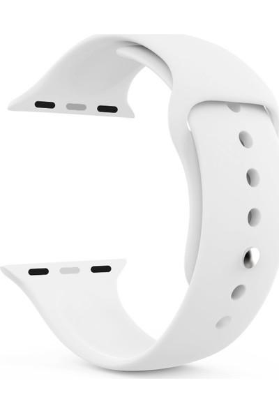 Microsonic Apple Watch Series 4 44mm Silikon Kordon