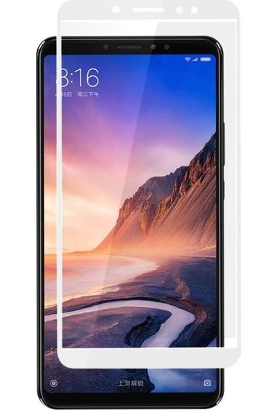 Microsonic Xiaomi Mi Max 3 Tam Kaplayan Temperli Cam Ekran koruyucu