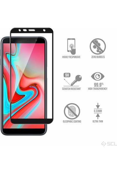 Microsonic Samsung Galaxy J4 Plus Tam Kaplayan Temperli Cam Ekran koruyucu