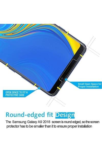 Microsonic Samsung Galaxy A9 2018 Temperli Cam Ekran Koruyucu