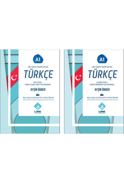 Link Turkish Yabancılar için Türkçe Ders ve Çalışma Kitabı A1