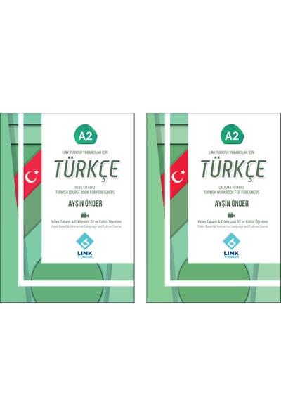 Link Turkish Yabancılar için Türkçe Ders ve Çalışma Kitabı A2