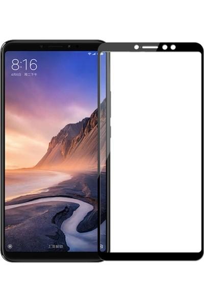 Gpack Xiaomi Mi Max 3 Full Kapatan Renkli Cam Siyah