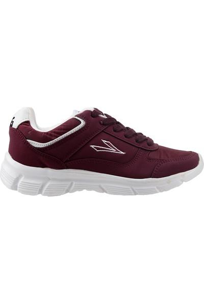 Lig 15-01-30 Bordo Beyaz Günlük Erkek Çocuk Spor Ayakkabı