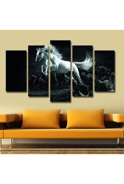 Dekorvia At 13 - 5 Parçalı MDF Tablo 100 x 60 cm
