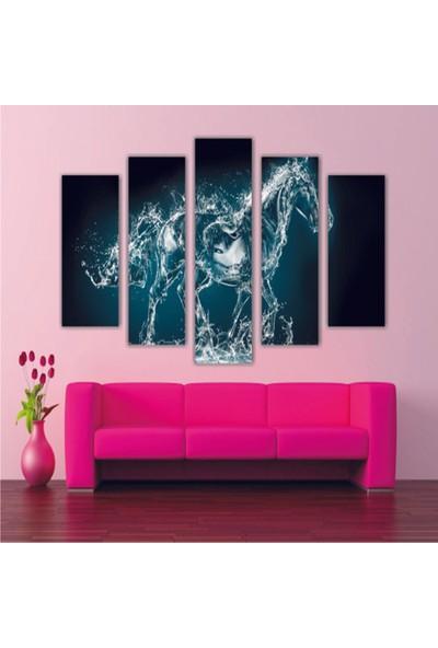 Dekorvia At 12 - 5 Parçalı MDF Tablo 100 x 60 cm