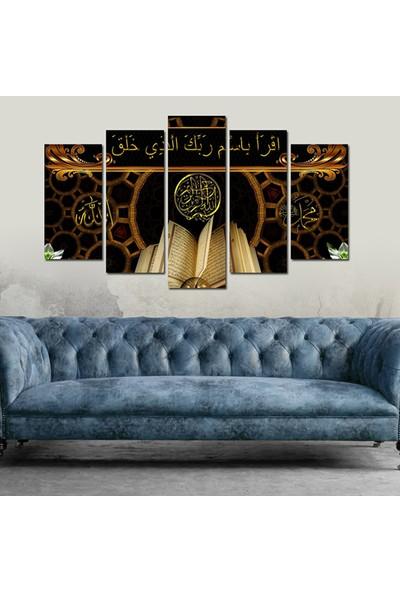 Dekorvia Dini Görsel 11 - 5 Parçalı MDF Tablo 100 x 60 cm