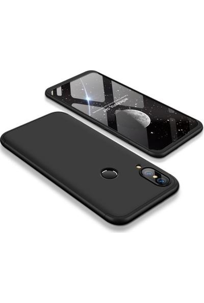 Alaca Huawei P20 Lite Kılıf 360 Derece Koruyucu Kapak Ays İnce Fit