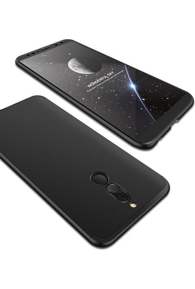 Alaca Huawei Mate 10 Lite Kılıf 360 Derece Koruyucu Kapak Ays İnce Fit