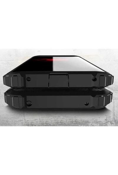 Ehr. Apple iPhone 6 Plus & 6S Plus Kılıf Ultra Lüx Çift Katmanlı Darbe Emici Crash Kılıf + Nano Koruyucu Cam