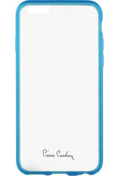 Pierre Cardin iPhone 6/6S Silikon Koruma PCZ-S05 Mavi
