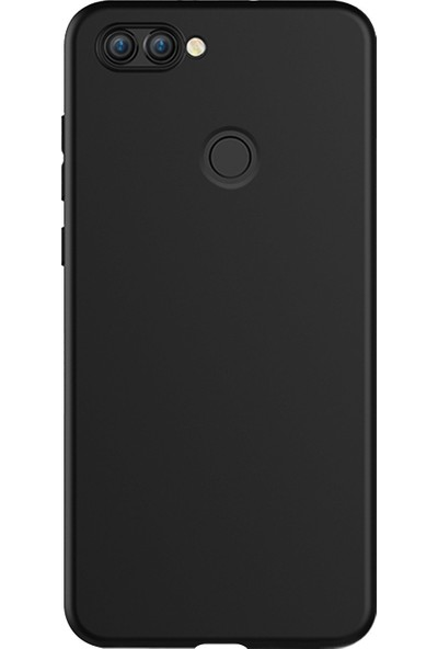 Kılıfist Asus Zenfone Max Plus Zb570Tl Kılıf Premier Mat Esnek Silikon Kılıf + Esnek Nano Cam Siyah