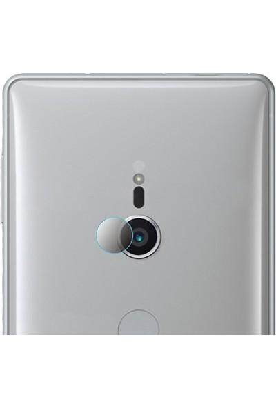 Ally Sony Xperia XZ2 Yüksek Çözünürlüklü Kamera Lens Koruma Camı