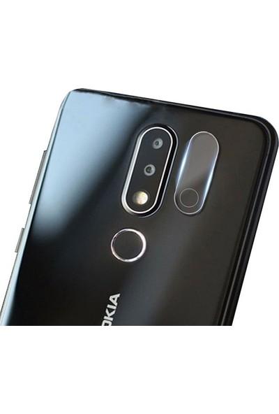 Ally Nokia X6 Yüksek Çözünürlüklü Kamera Lens Koruma Camı