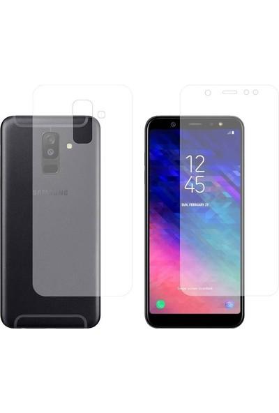 Gpack Samsung Galaxy A6 Plus 2018 Full Body Ön Arka Ekran Koruyucu
