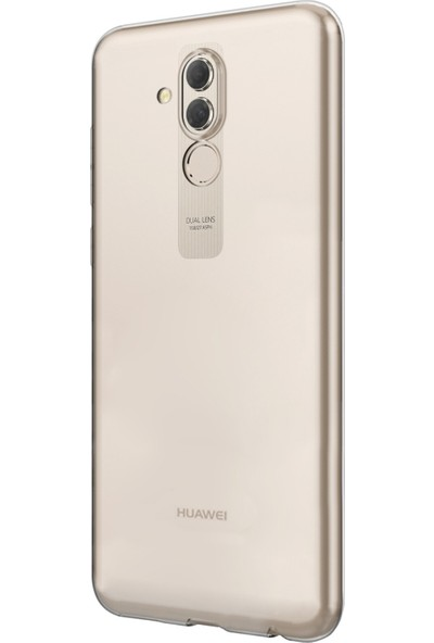 Kılıfist Huawei Mate 20 Lite Kılıf Şeffaf Yumuşak İnce Silikon Kapak