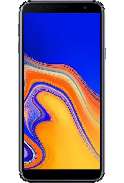 Eiroo Samsung Galaxy J4 Plus Tempered Glass Cam Ekran Koruyucu