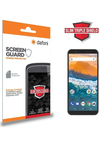 Dafoni General Mobile Gm 9 Pro Slim Triple Shield Ekran Koruyucu