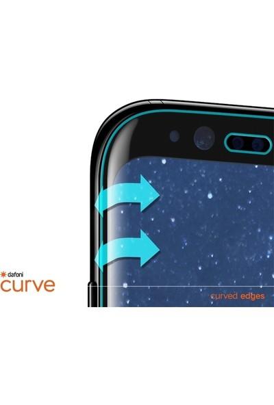Dafoni Samsung Galaxy A7 2018 Curve Tempered Glass Premium Full Siyah Cam Ekran Koruyucu