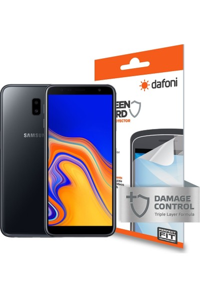 Dafoni Samsung Galaxy J6 Plus Ön + Arka Darbe Emici Full Ekran Koruyucu Film