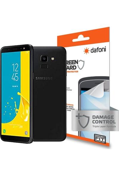 Dafoni Samsung Galaxy J6 Ön + Arka Darbe Emici Full Ekran Koruyucu Film