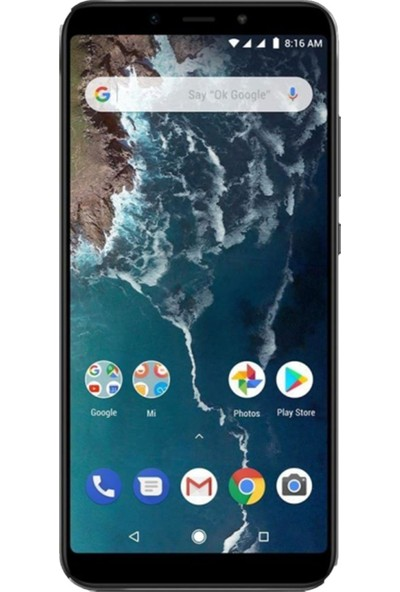 Eiroo Xiaomi Mi A2 Tempered Glass Cam Ekran Koruyucu