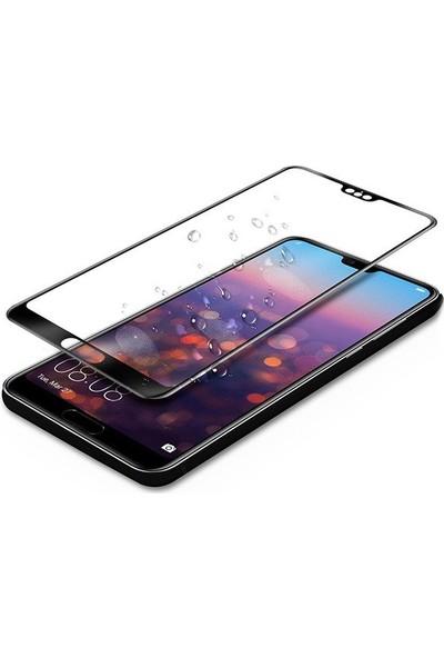 Telefonborsası Telbor Huawei P20 Pro 5D Tam Koruyucu Cam Siyah