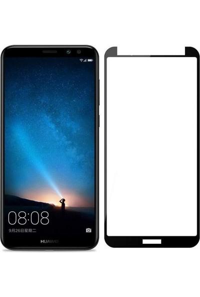 Telefonborsası Telbor Huawei Mate 10 Lite Tam Kaplayan 3D Cam Ekran Koruyucu Siyah