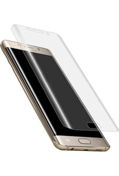 AkseStore Samsung Galaxy S8 Plus 5D Full Cover Şeffaf Ekran Koruyucu Cam