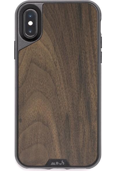 Mous Limitless 2.0 Case iPhone X Walnut IX No Screen Protector Kılıf