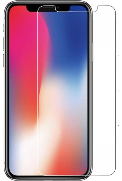 Nettech Apple iPhone X 0.4 mm Cam Ekran Koruyucu