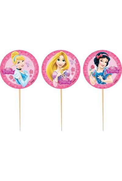 PartiniSeç 10 Adet Disney Prensesler ( Princess) Sunum Kürdanı, Parti Süsü