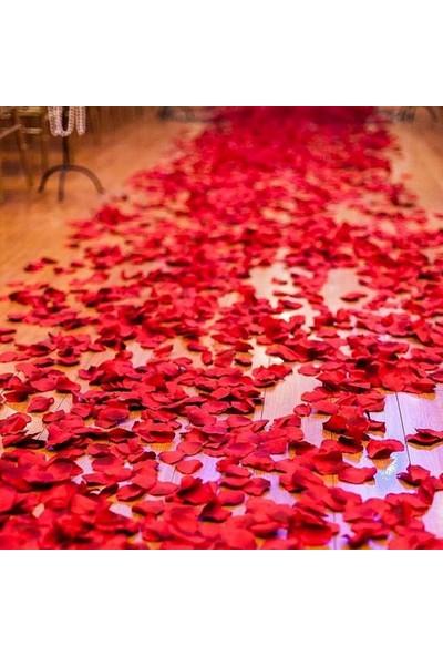 PartiniSeç 1000 Adet Gül Yaprağı, Romantik Süsleme Gül Yaprakları