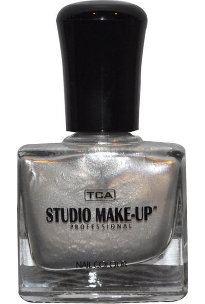 Tca Studio Make-Up Oje 167 Metalik Gri