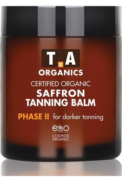 Tca Organics Saffron Tanning Balm Daha Uzun Süre Bronzluk Kremi 100 ml